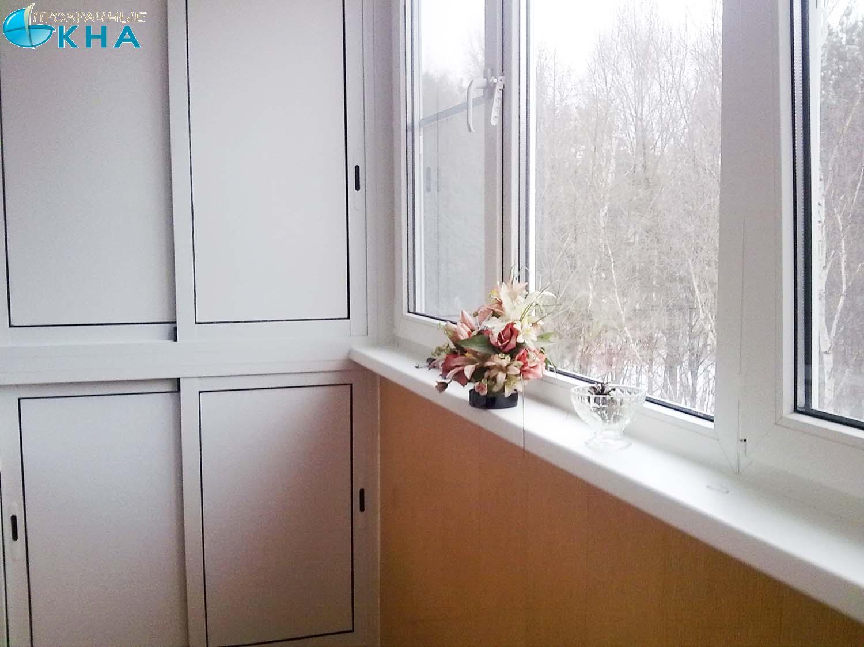Изготовление встроенной мебели для балконов и лоджий..